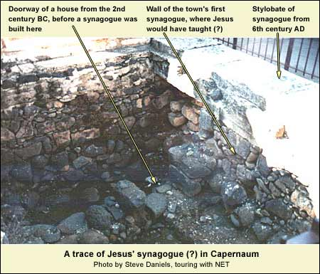 Jesus' synagogue?