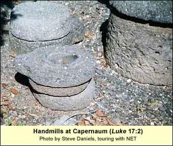 Handmills at Capernaum